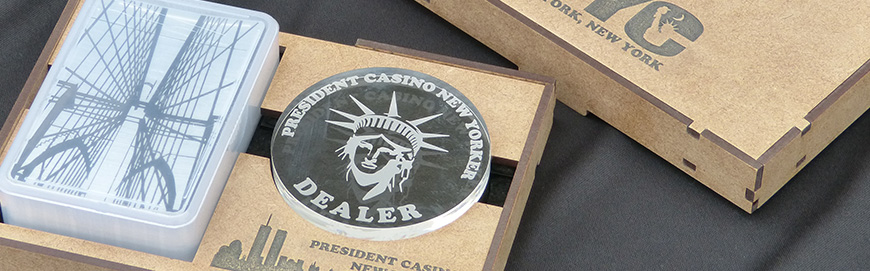 Coffret President Casino New Yorker