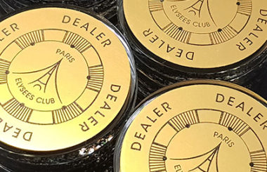Dealer Buttons – Paris Elysées Club