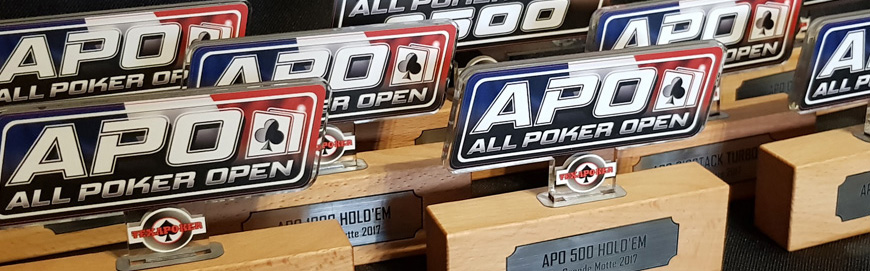 "Poker Trophies ""All Poker Open"" – Pasino La Grande Motte"