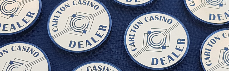 Poker Accessories for the Carlton Casino Club in Dublin