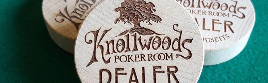 Bouton Dealer bois Knollwoods