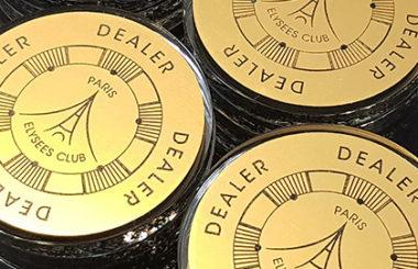 Dealer Buttons – Paris Elysées Club