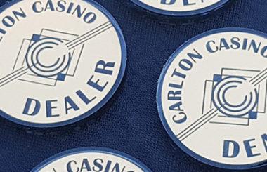 Accessoires de Poker pour le Carlton Casino Club à Dublin