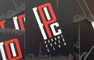 Cut-Cards pour le Paname Poker Club